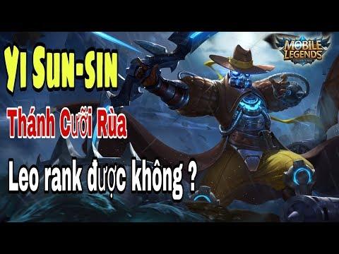 Mobile legends: Yi SUN SIN - Xạ Thủ bị lãng quên, leo rank huyền thoại vẫn ổn :)