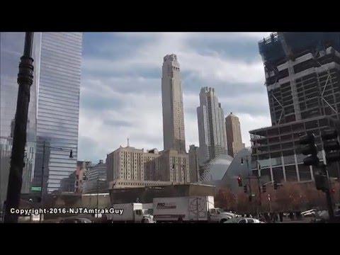 UPDATE! One World Trade Center / Three World Trade Center 2/1/2016 construction progress part 1