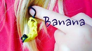Banana Rainbow Loom Comment faire Tutorial easy facile français