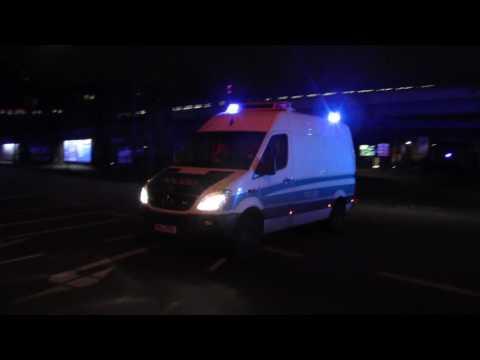 (Die mobile Polizeiwerkstatt) Halbgruppengerätekraftwagen TEE Polizei Hamburg