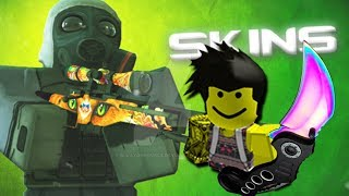Roblox - Counter Blox Roblox Offensive unboxing two knifes!