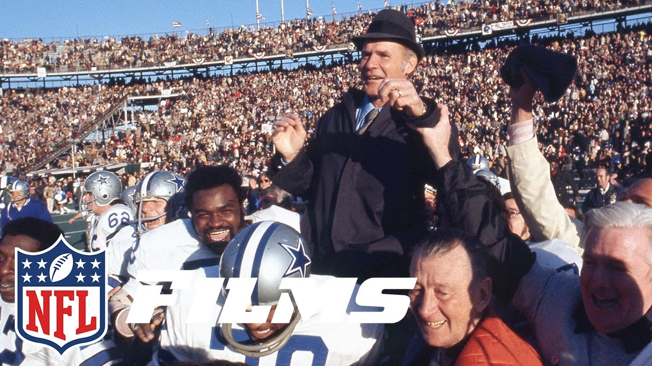 1 Tom Landry | Top 10 Dallas Cowboys of All Time | NFL Films - YouTube