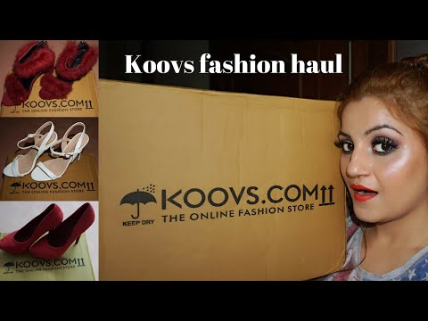 Koovs' Sale Fashion Haul | Try on Shoes Haul | Amazing stuff at Amazing Prices