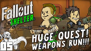 EPIC DAILY QUEST WEAPONS RUN Fallout Shelter IOS Android PC