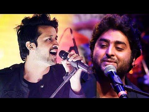 Atif Aslam VS Arijit Singh LIVE Full Performance At GIMA Awards 2018