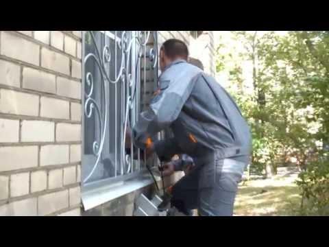 """Срочное изготовление и установка решеток на окна - """"Стальной Декор"""""""