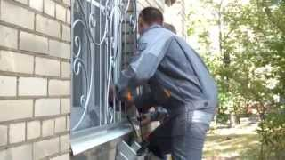 Срочное изготовление и установка решеток на окна -