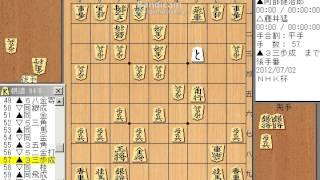 NHK杯 阿部健治郎 藤井猛 2012-07-02 四間飛車