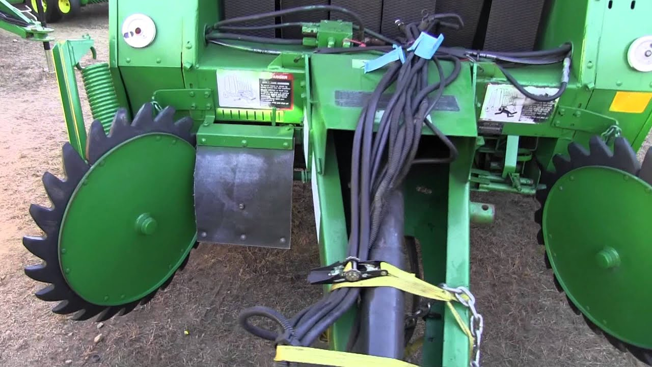 John Deere 335 Round Baler - Year of Clean Water