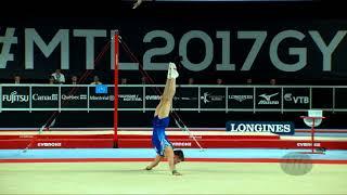 BELYAVSKIY David (RUS) - 2017 Artistic Worlds, Montréal (CAN) - Qualifications Floor Exercise