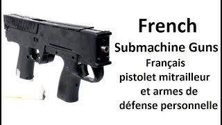 Evolution of French SMG's - Updated