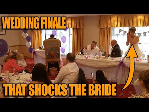 Wedding Finale by David Penn - Magician at The Forest of Arden Hotel