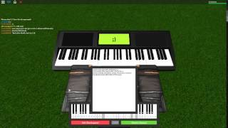 Harry Potter Theme on a ROBLOX piano. REVAMPED