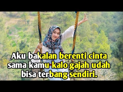 Gombalan paling ampuh buat baperin doi quotes indonesia