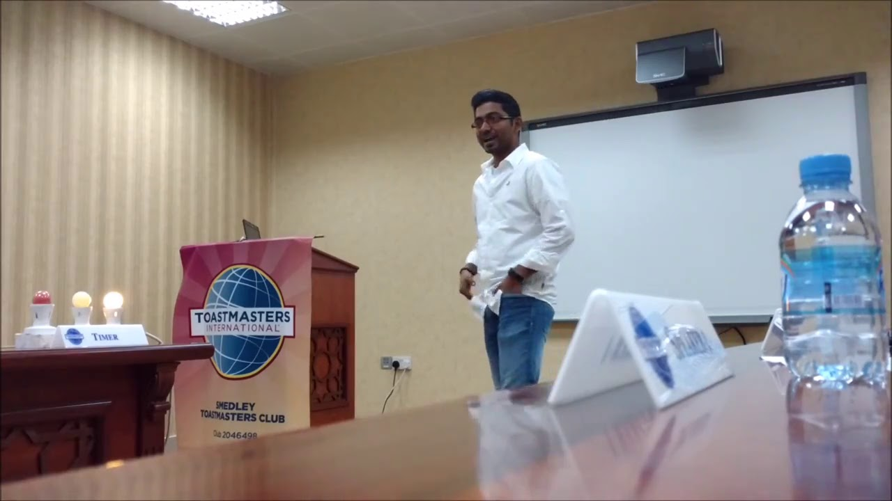 My Icebreaker Speech And Speech Review Toastmasters Youtube