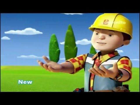 Cartoonito UK Bob The Builder (2015 Version) New Show Promo