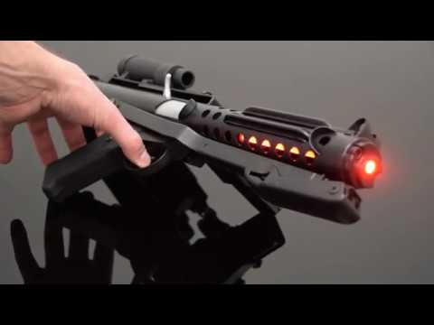 SaberForge E-12 Full Metal Full Electronics Blaster