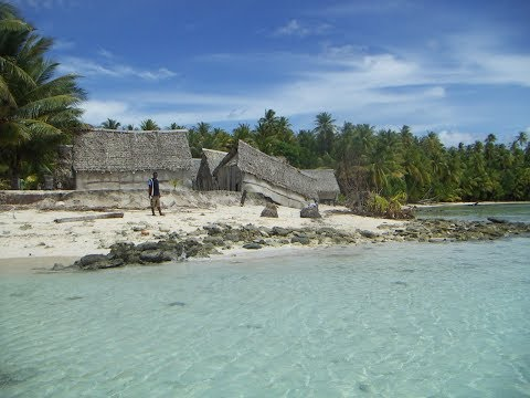 ONTONG JAVA - a remote atoll in the Solomons that is disappearing into the sea