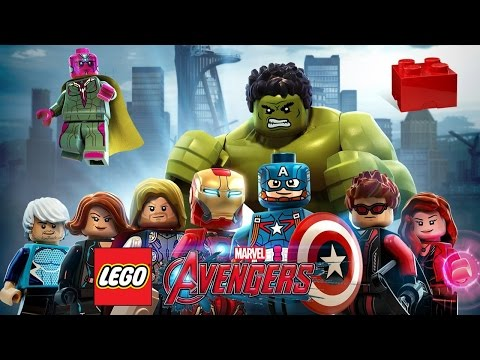 LEGO Marvel's Avengers (3DS/Vita) 100% Guide  - ALL Collectibles: Red Bricks & Character Tokens