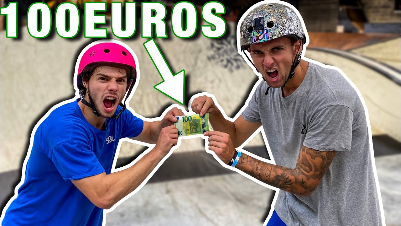 QUI GAGNERA LES 100 EUROS ? Feat @scoot 2 street