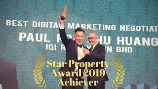 Paul Poh | Star Property Award 2019 Achiever | with All Star Agency IQI Realty | SREA
