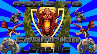 Clash of clans - Trophy pushing to Champion League Eps. 2