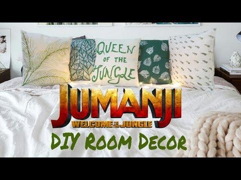 JUMANJI: WELCOME TO THE JUNGLE - DIY fabric art + GIVEAWAY CLOSED 2018