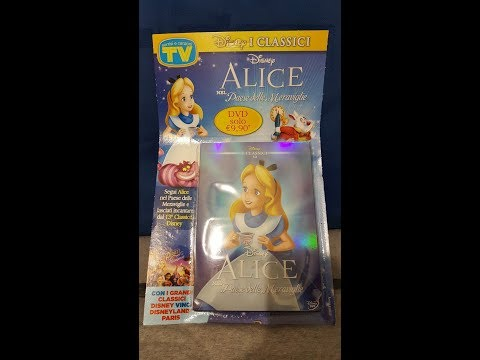 Alice nel Paese delle Meraviglie DVD _Unboxing Review