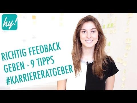 Feedback geben und nehmen - Beispiele & Tipps #Karriereratgeber