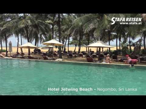 STAFA REISEN Hotelvideo: Hotel Jetwing Beach, Negombo, Sri Lanka in 4K