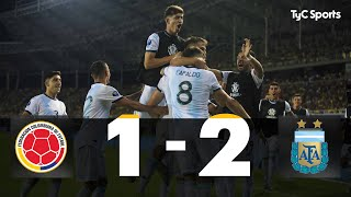 Preolímpico Sub-23: Colombia 1-2 ARGENTINA (Alexis Mac Allister y Gaich)