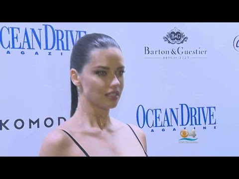 Adriana Lima Graces Ocean Drive's March Cover