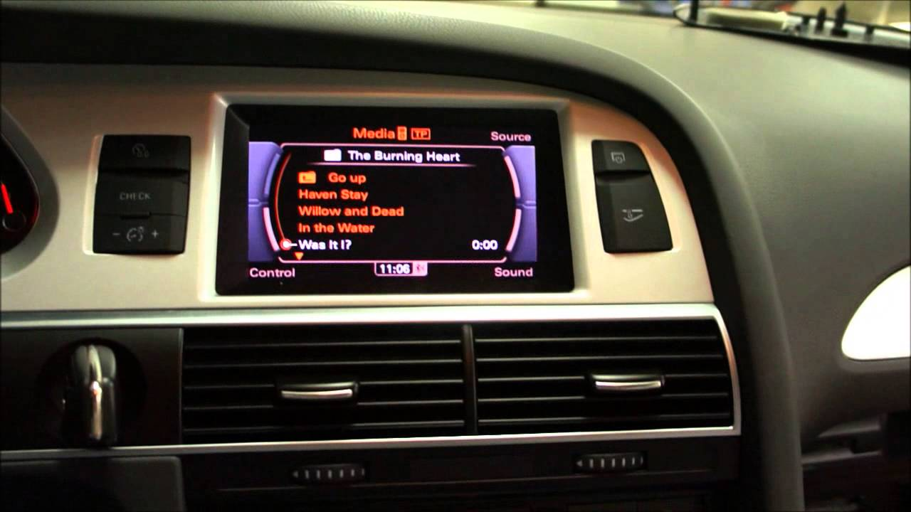 Aktivera A2dp F 246 R Audi Ami I Mmi 3g Mmi 3g Radio Plus Youtube