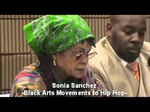 Sonia Sanchez-Black Arts Movement (BAM) to Hip Hop