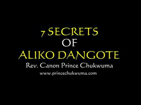 7 Secrets of Aliko Dangote