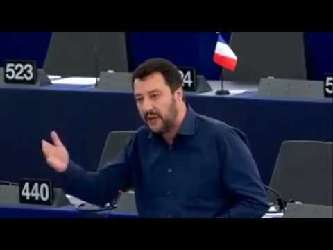 Matteo Salvini, Due Minuti Per Dire Alla Commissione Europea: VERGOGNATEVI!!!