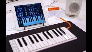 mmag.ru: Musikmesse 2015 - CME X Key - keyboard  - Jordan Rudess presentation