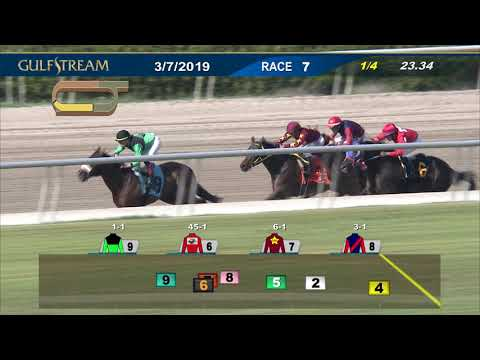 Gulfstream Park March 7, 2019 Race 7