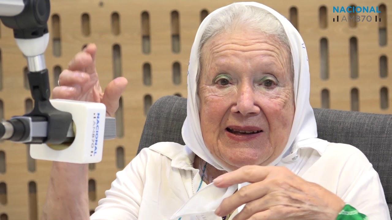 Nora Cortiñas habló de todo en Radio Nacional - YouTube
