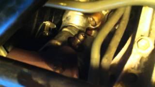 Sc430 bank 2 sensor 1 oxygen sensor removal