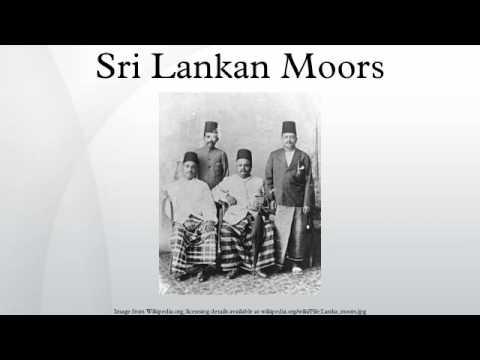 Sri Lankan Moors