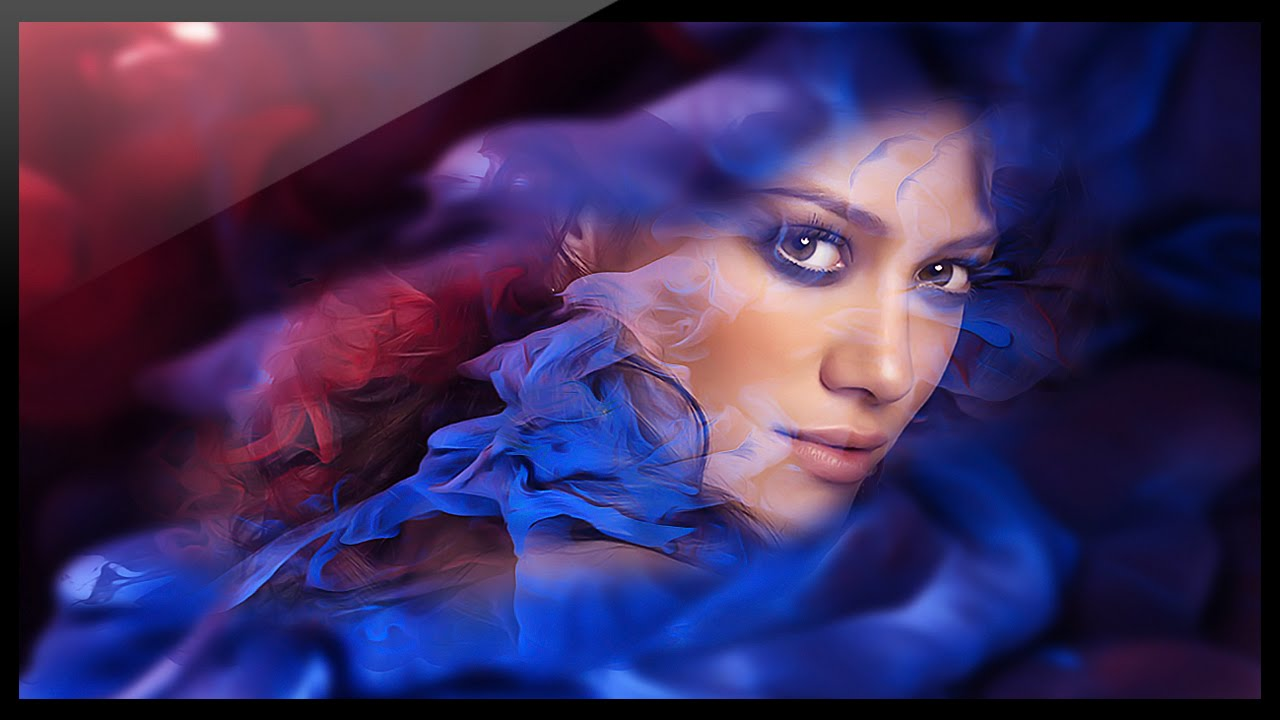 Photoshop tutorial - How to create artistic effects to photos