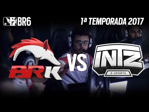 #BR6 - BRK E-SPORTS vs INTZ E-SPORTS - Grupo A (Rodada 2)