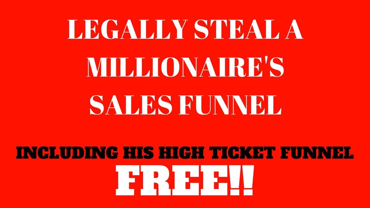 ClickFunnels-High Ticket Sales Funnel-Get Yours For Free