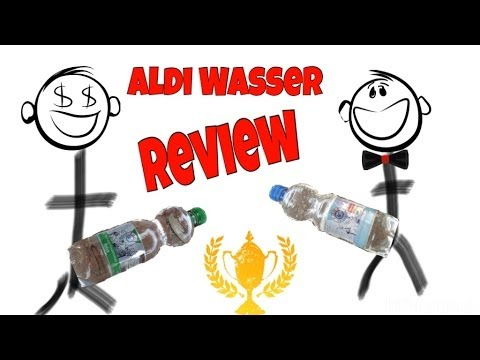 aldi wasser review german youtube