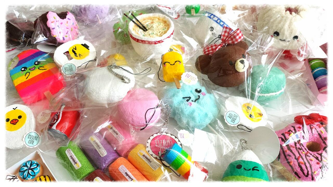 Homemade Squishy Collection 2014 : Homemade Squishy Collection Part 1 - YouTube