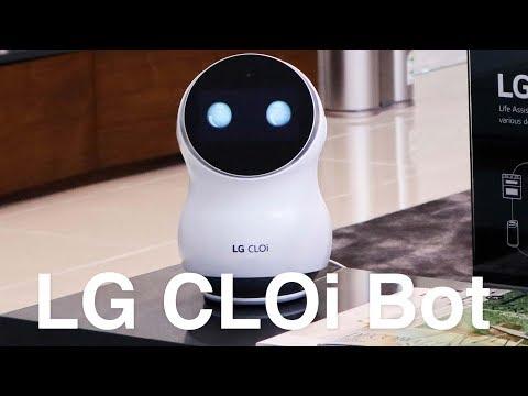 """Ngắm dàn Robot """"khủng"""" của LG: đa dạng, có cả Robot hỗ trợ người khuyết tật"""