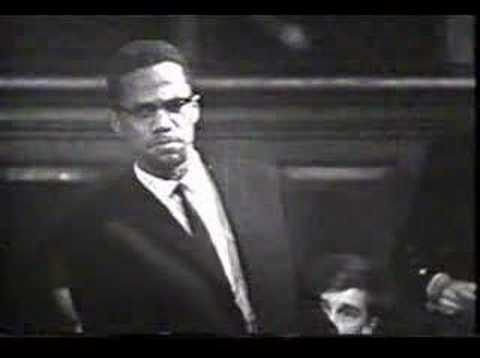 El Hajj Malik El Shabazz Malcolm X Speaks.