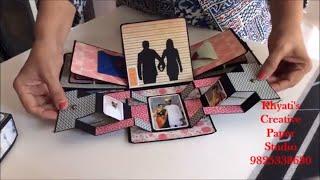 Cutest Anniversary gift idea/Romantic Explosion box/Anniversary gift for husband,boyfrien/Gift idea