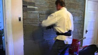 How to plaster a wall video,  lot